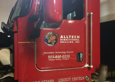Alltech Semi Cab by Cascade Wraps 1