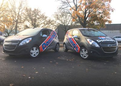 Dominos Vehicle Wraps by Cascade Wraps 1