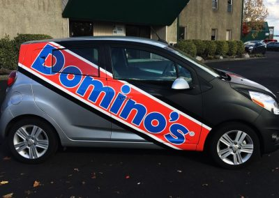 Dominos Vehicle Wraps by Cascade Wraps 4