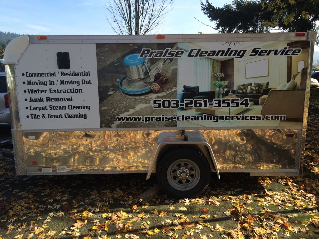 Praise Cleaning Vehicle Wraps by Cascade Wraps 1