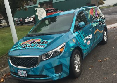 104.1 The Fish Van wrap