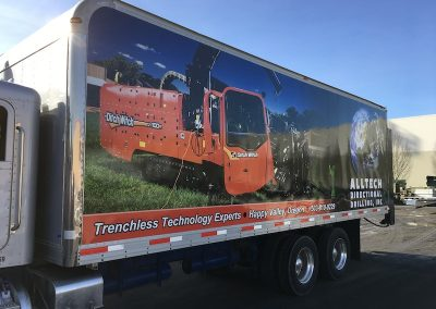 Alltech Directional Drilling box truck wrap