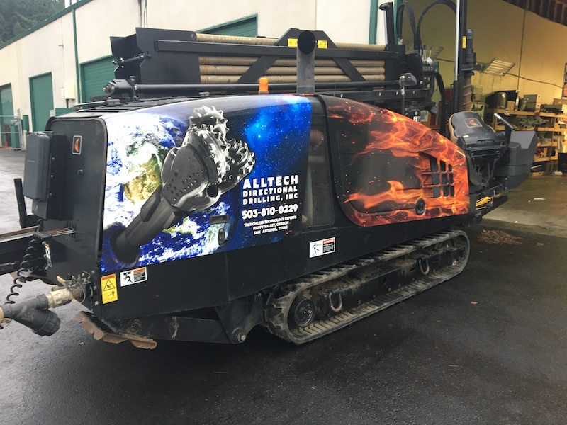 Alltech Directional Drilling cat wrap