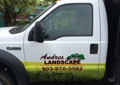 Andre's Landscaping by Cascade Wraps 5