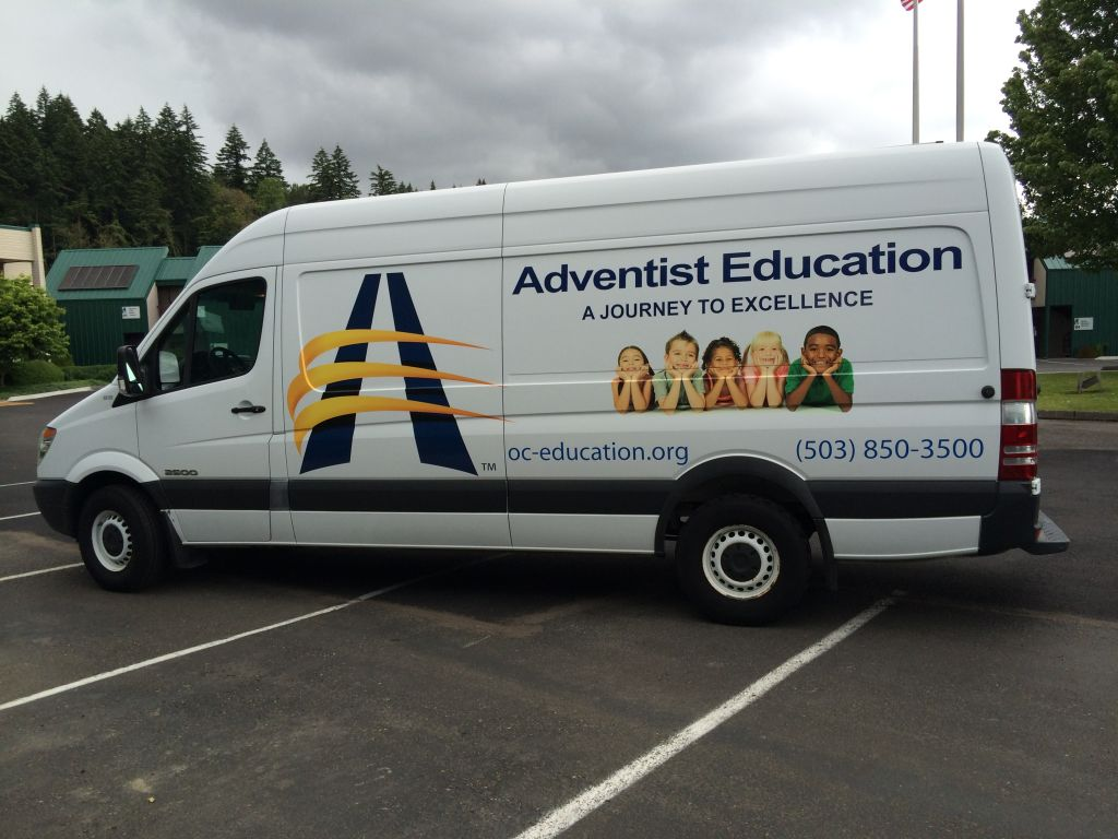 Box truck graphics make a safe storage container beautiful