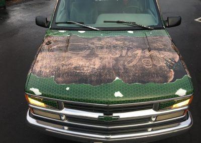 Cascade Wraps Truck 12