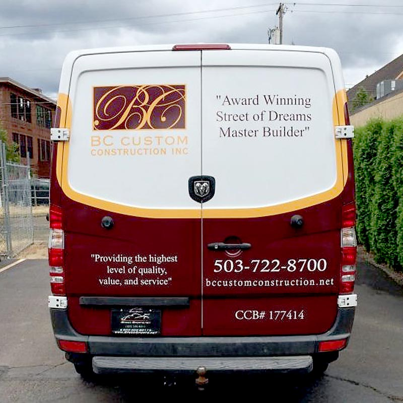 Cascade Wraps helps you decide whether you need afull vehicle wrap or a partial vehicle