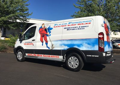 Clean Express Van wrap
