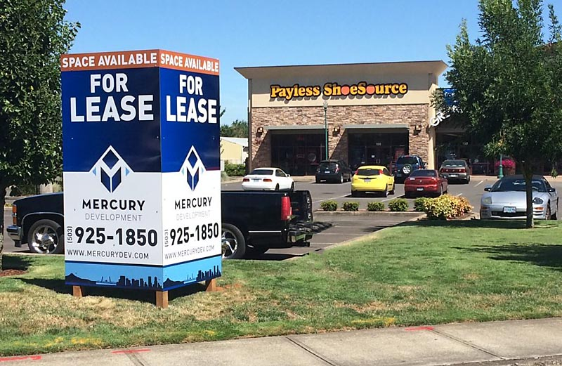 Custom Signs can boost sales