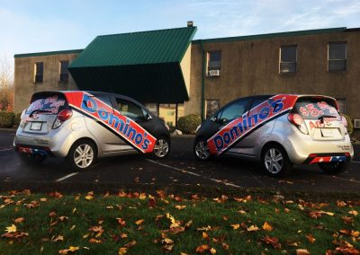 Dominos Vehicle Wraps by Cascade Wraps 3