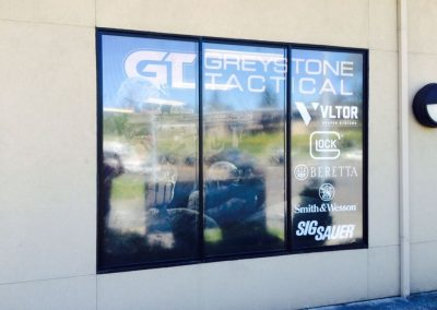 Greystone Window Signs by The Sign Guy 4