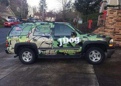 J dog Tahoe