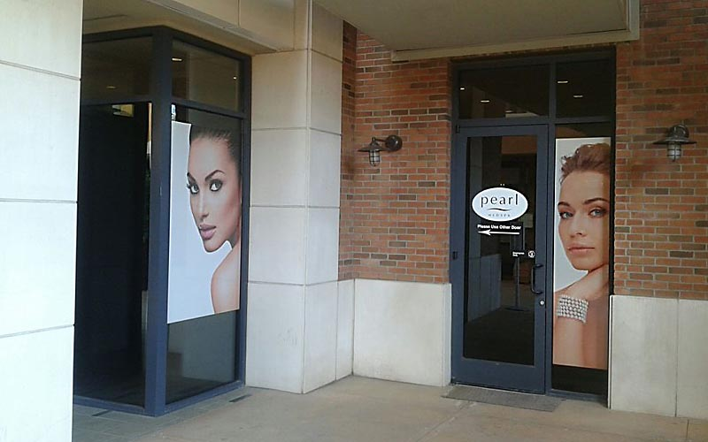Physical Signage can boost word of mouth traffic