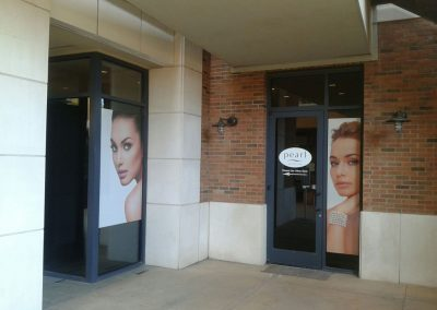 Pearl Medspa AZ Window Sign by The Sign Guy 1