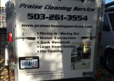 Praise Cleaning Vehicle Wraps by Cascade Wraps 2