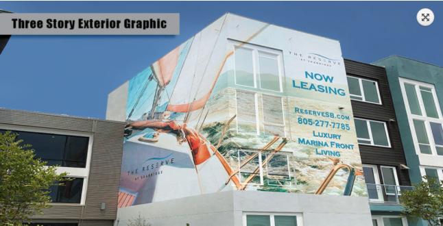 Vinyl graphics that inspire business