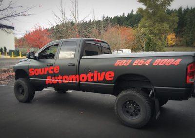 Cascade Wraps applies reflective vinyl for Source Automotive