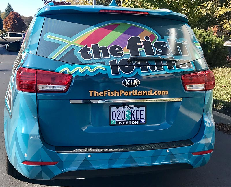 The value of a wrapped vehicle by Cascade Wraps