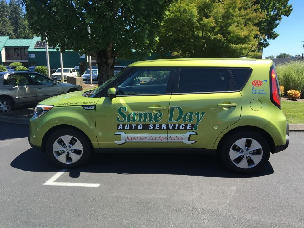 Vehicle Graphics by Cascade Wraps 50