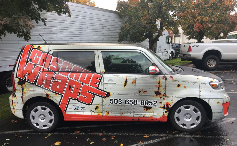 Vehicle Wrap Technology makes space for creative advertising